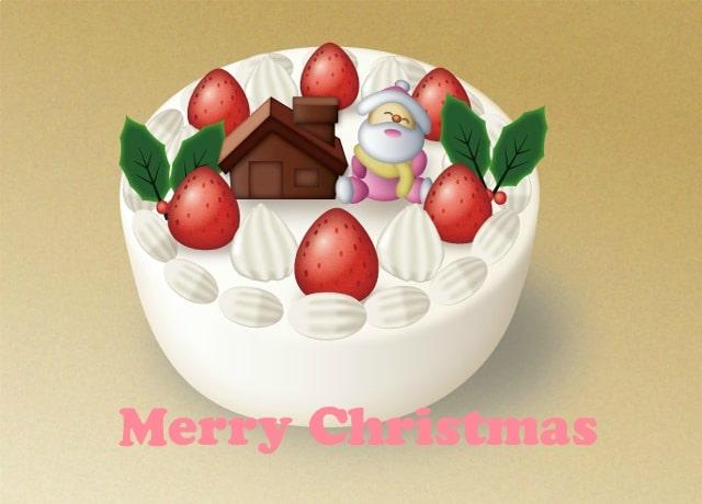 クリスマスケーキフラッシュ