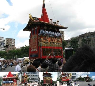 祇園祭のギャラリーフラッシュ2